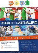 Giornata dello Sport Paralimpico - Insieme si può e piattaforma web